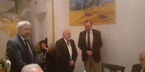 مراسم سپاسگزاری از پروفسور دکتر دانینگر ریاست دانشکده شیمی دانشگاه فنی وین